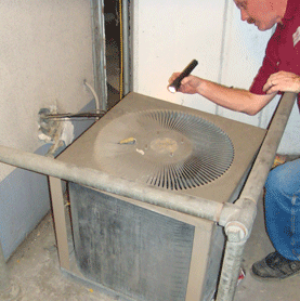 Houston Training Center of Air Conditioning and Heating HVAC Inspection