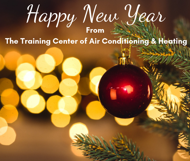 Happy New Year from The Training Center of Air Conditioning & Heating!